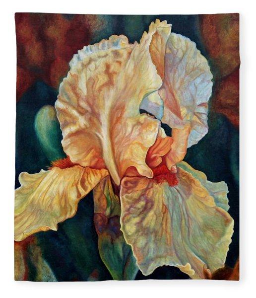 Iris 3_2017 Fleece Blanket
