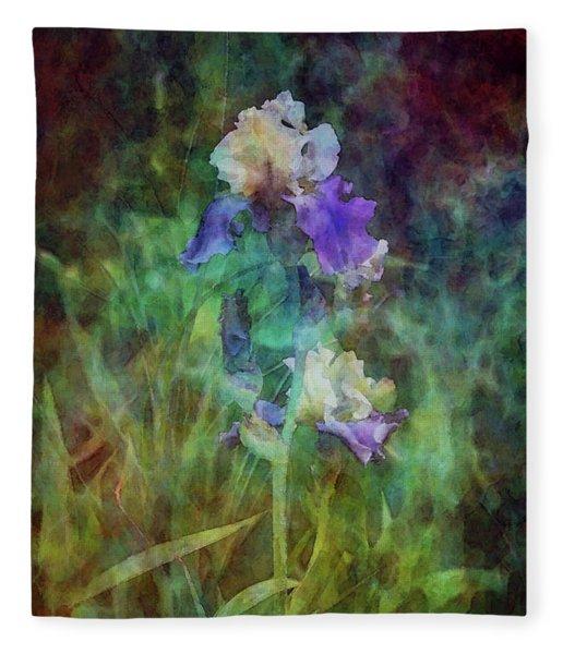 Irises 6618 Idp_3 Fleece Blanket