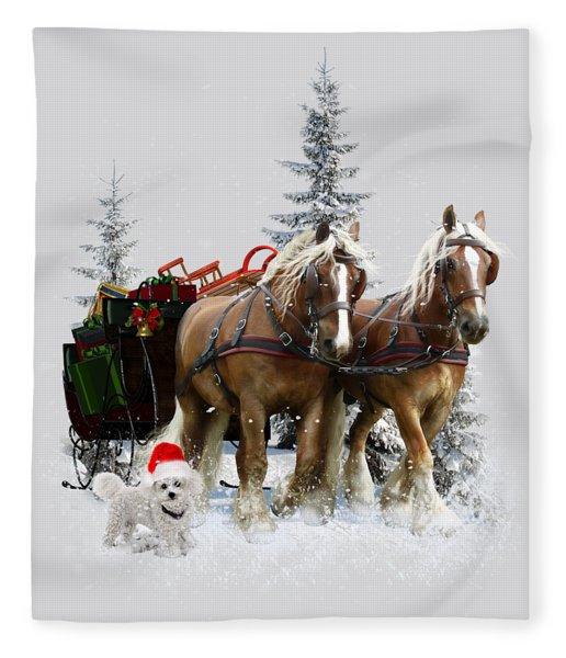 A Christmas Wish Fleece Blanket
