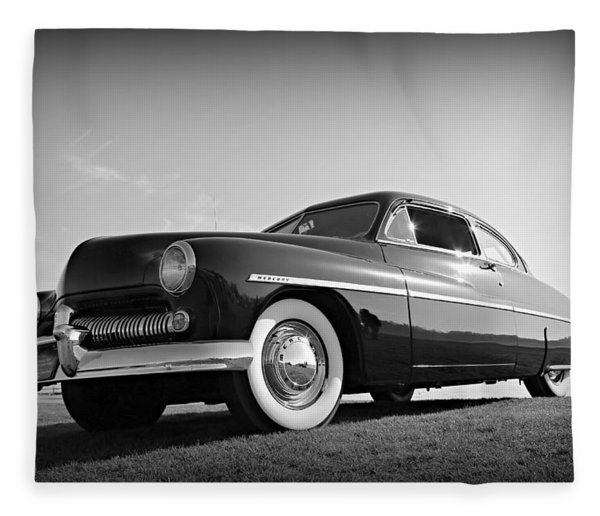 James Dean's Merc Fleece Blanket