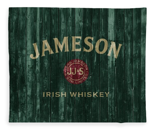 Jameson Irish Whiskey Barn Door Fleece Blanket