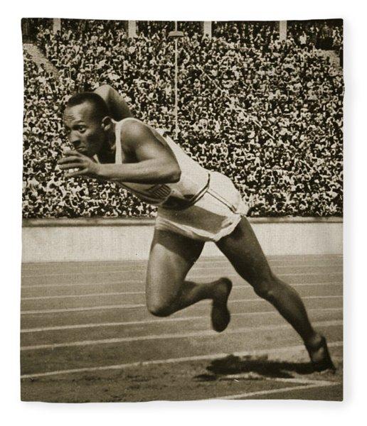 Jesse Owens Fleece Blanket