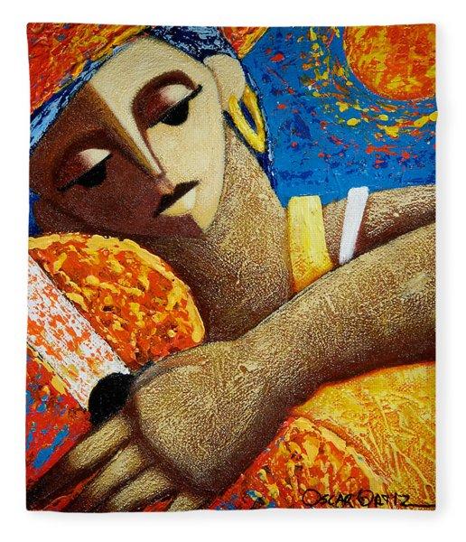 Jibara Y Sol Fleece Blanket