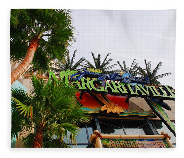 Jimmy Buffets Margaritaville In Las Vegas Fleece Blanket