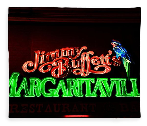 Jimmy Buffett's Margaritaville Fleece Blanket