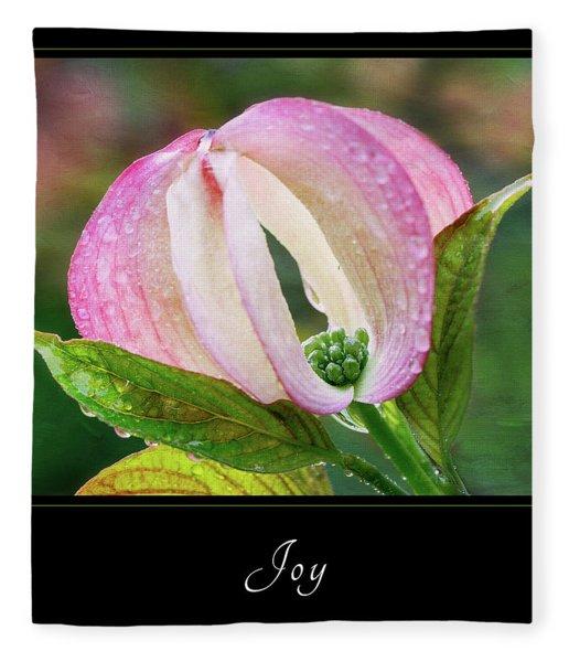 Joy 3 Fleece Blanket