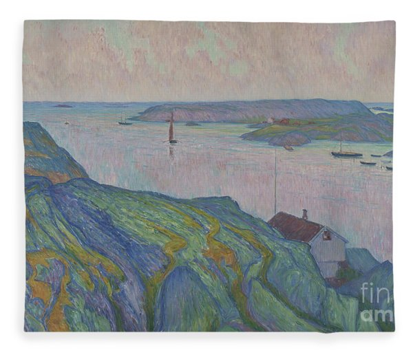 Kyrkesund, 1911 Fleece Blanket