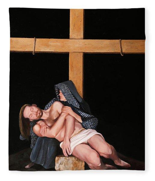 La Pieta Fleece Blanket