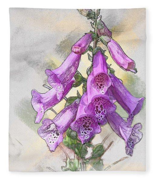 Lady's Glove Fleece Blanket