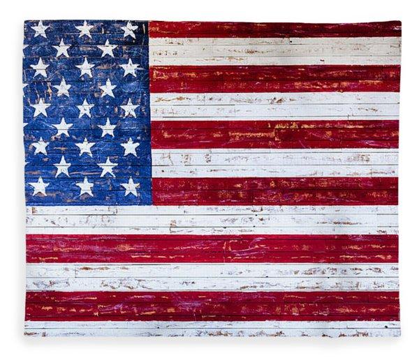 Land Of The Free,american Flag Canvas Print,photographic Print,art Print,framed Print,greeting Card, Fleece Blanket
