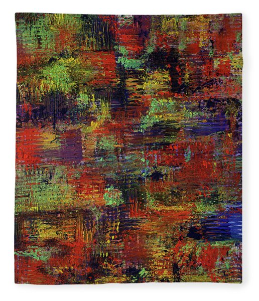 Layers Of Life Fleece Blanket