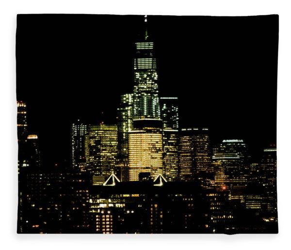 Le Tour Du Liberte Fleece Blanket