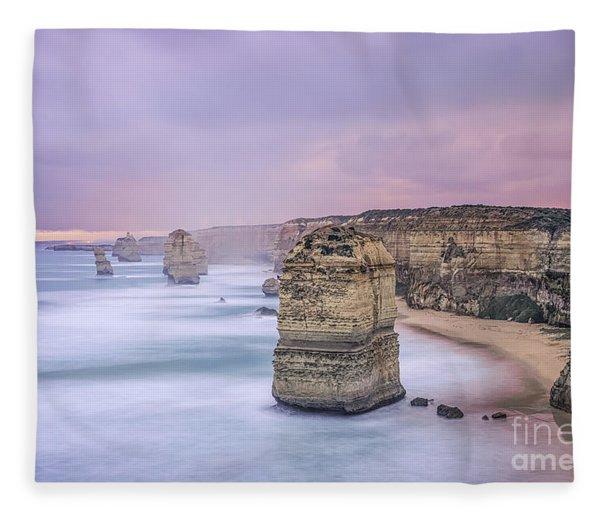 Left In A Dream Fleece Blanket