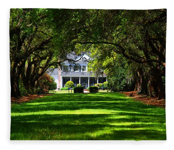 Legare Waring House Charleston Sc Fleece Blanket