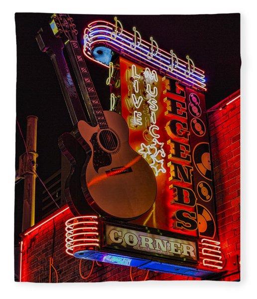 Legends Corner Nashville Fleece Blanket