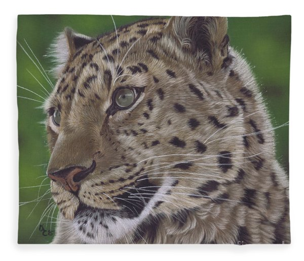 Leopard Fleece Blanket