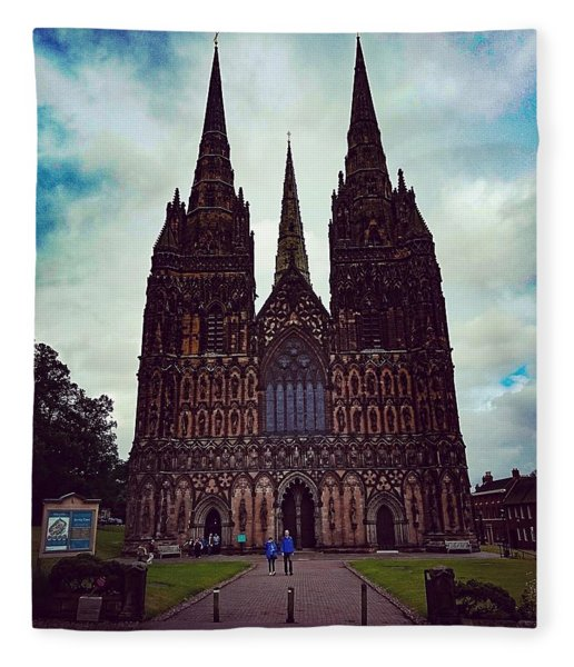 Lichfield Cathedral Fleece Blanket