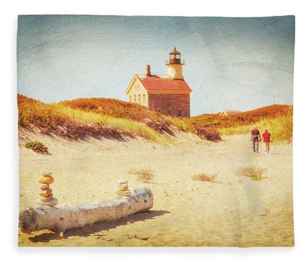 Lifes Journey Fleece Blanket
