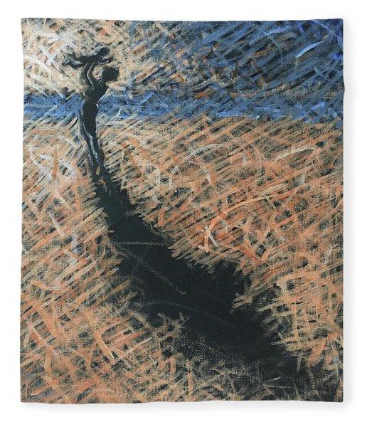 Lifting Into The Light Fleece Blanket