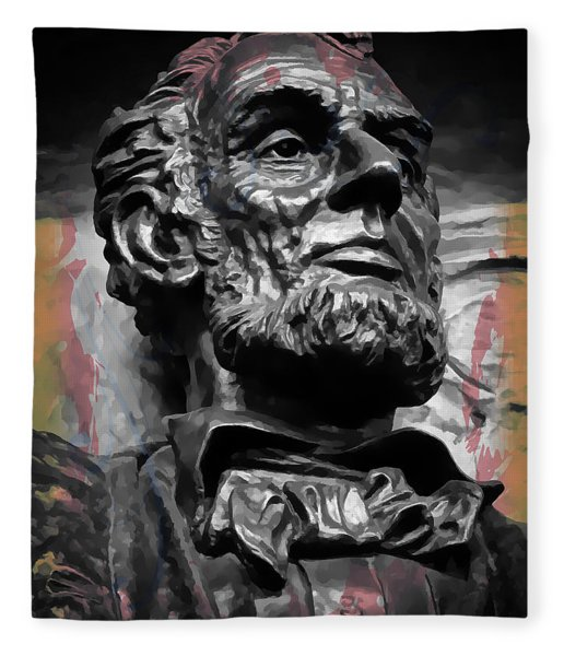 Lincoln Stoic Fleece Blanket