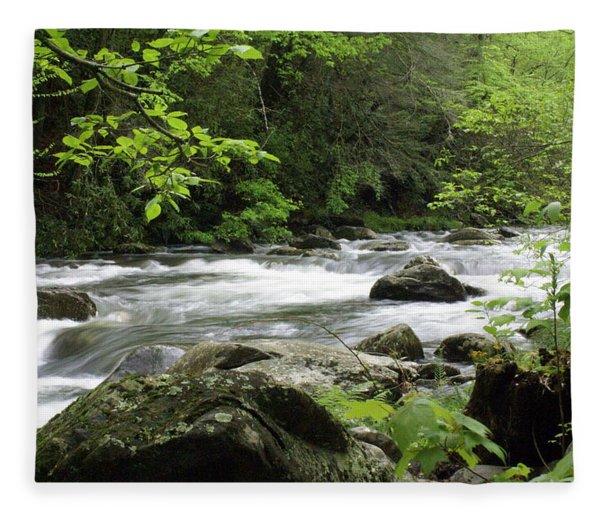 Litltle River 1 Fleece Blanket