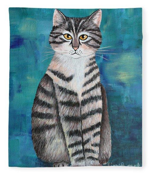 Little Tiger Fleece Blanket