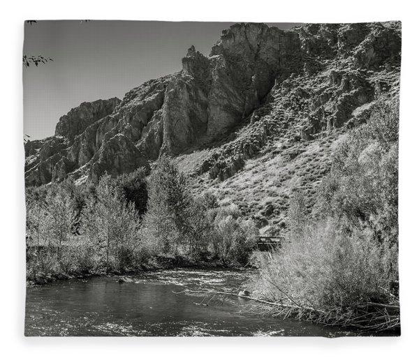 Little Wood River 2 Fleece Blanket
