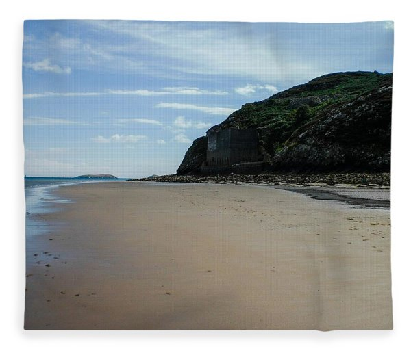 Llandbedrog Headland, Lleyn Peninsula, North Wales Fleece Blanket