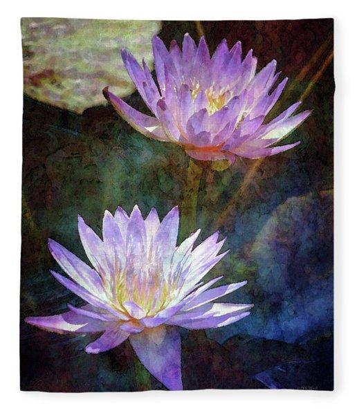 Lotus Reflections 2980 Idp_2 Fleece Blanket