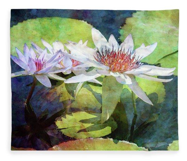 Lotus Trio 2923 Idp_2 Fleece Blanket