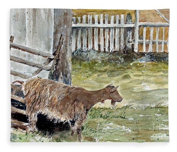 Louisbourg Resident Fleece Blanket