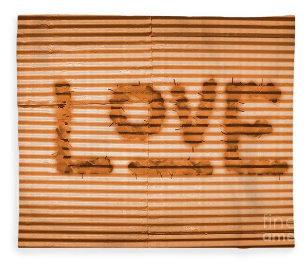Love Is All Fleece Blanket