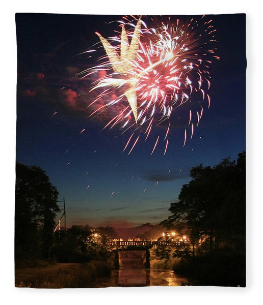 Magic In The Sky Fleece Blanket
