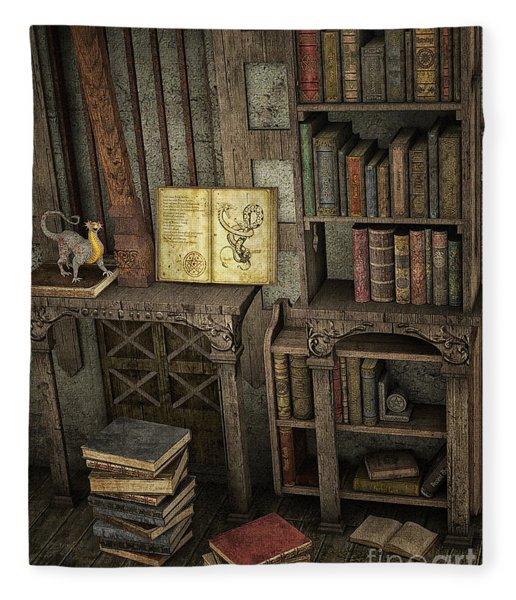 Magic Literature Fleece Blanket