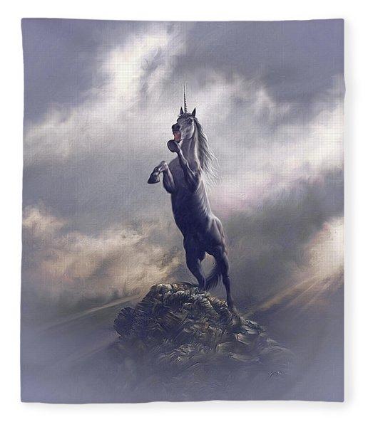 Majestic Dignity  Fleece Blanket