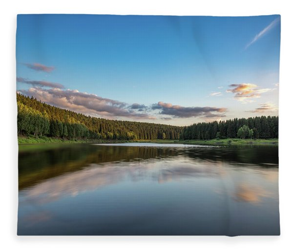 Mandelholz, Harz Fleece Blanket