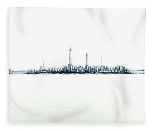 Manhattan 2018 Fleece Blanket