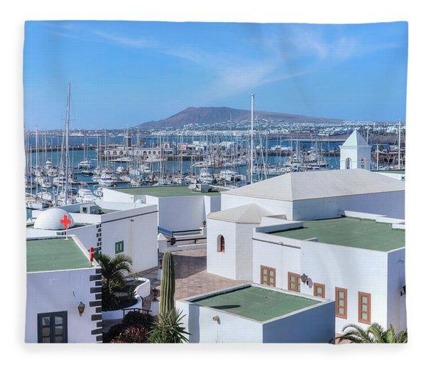 Marina Rubicon - Lanzarote Fleece Blanket