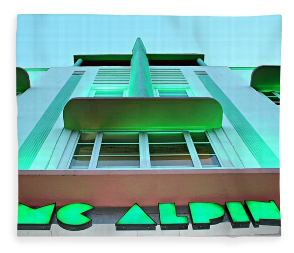 Mcalpin Hotel Fleece Blanket