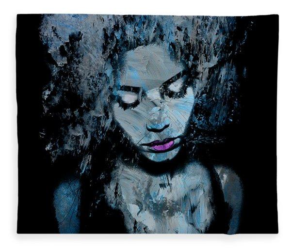 Melancholy And The Infinite Sadness Fleece Blanket