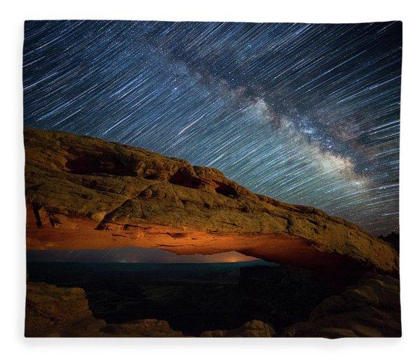 Mesa Star Storm Fleece Blanket