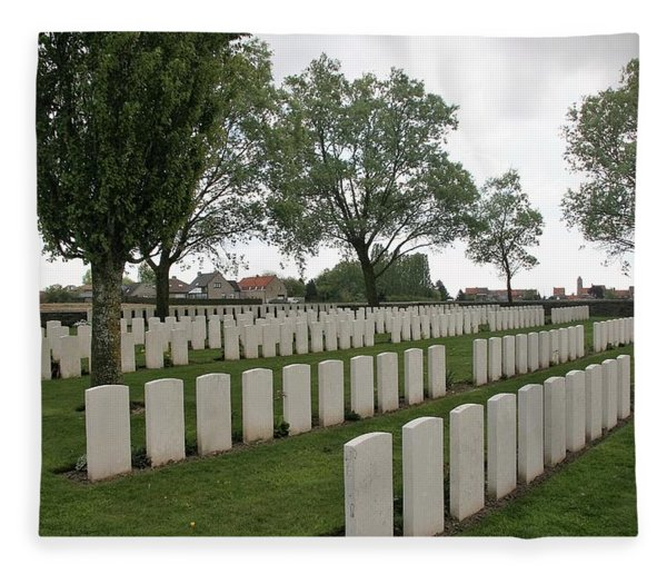 Photograph - Messines Ridge British Cemetery by Travel Pics