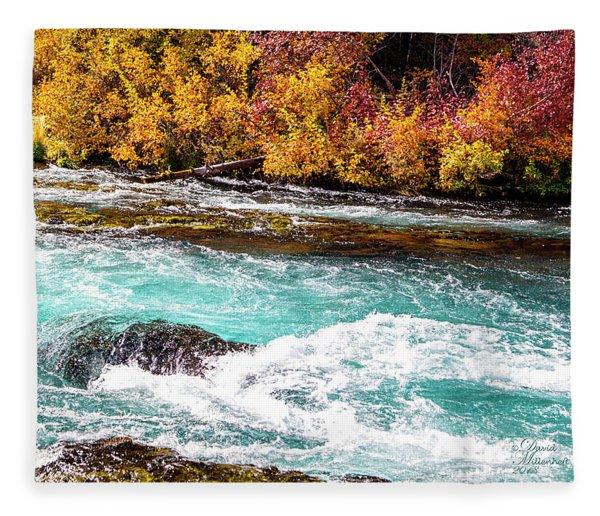 Metolius River Fleece Blanket
