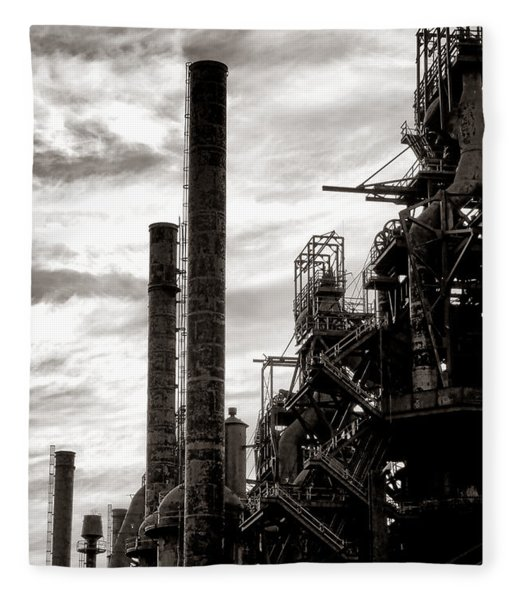 Mighty Bethlehem Steel Fleece Blanket