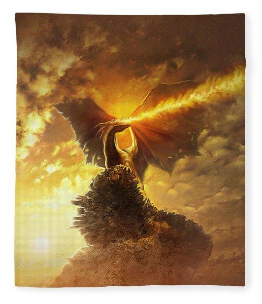 Mighty Dragon Fleece Blanket