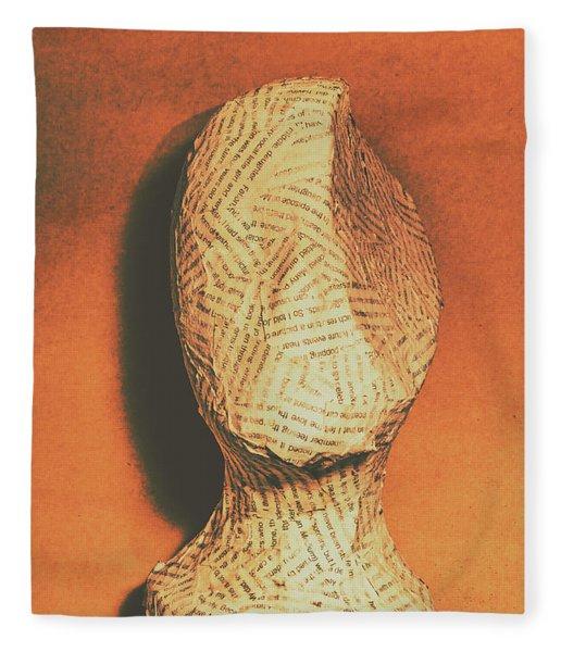 Mind Of A Philosopher Fleece Blanket