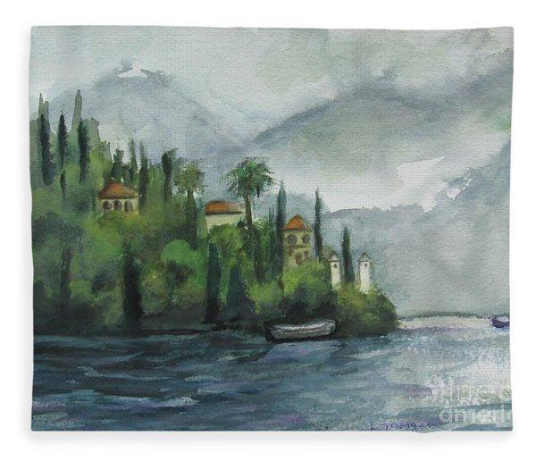 Misty Island Fleece Blanket
