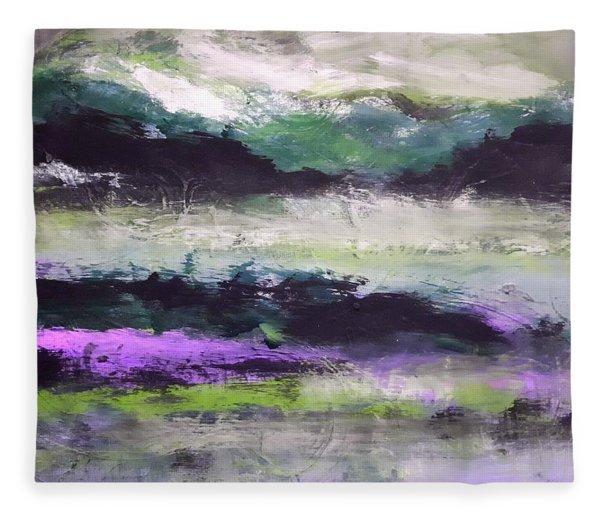 Moody Lake Fleece Blanket