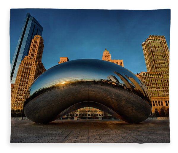 Morning Bean Fleece Blanket