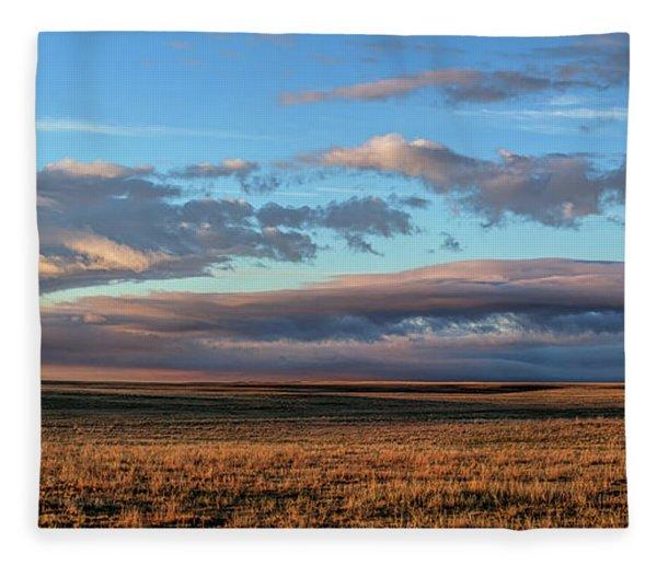 Morning Grace Fleece Blanket